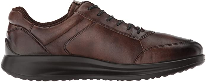 Ecco Aquet Men's Brown Laced Casual Shoe 207124 - Finn Footwear