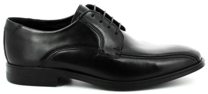 Ecco Melbourne Men's Black Laced Shoe 621604 - Finn Footwear