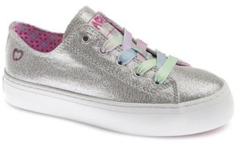 Pablosky Girls Laced Canvas Shoe 963251 - Finn Footwear