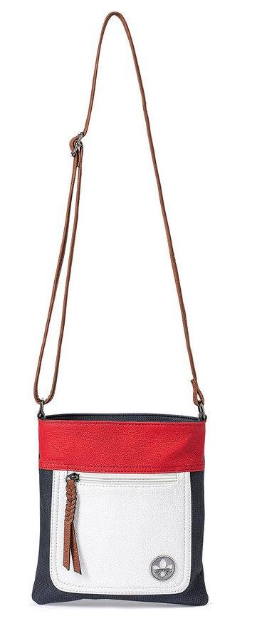 Rieker Ladies Crossbody Navy/Red/White Handbag H1023-14 - Finn Footwear