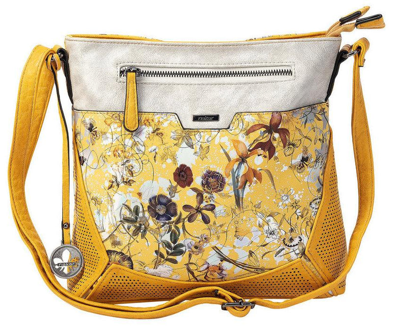 Rieker Ladies Crossbody Yellow Multi Handbag H1034-68 - Finn Footwear