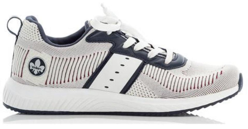 Rieker Ladies Laced Athleisure Shoe N9612-90 - Finn Footwear