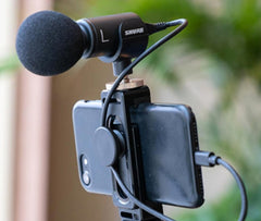 Shure MOTIV™ Digital Microphones and Recording Solutions