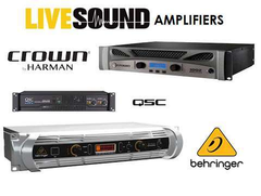 Live Sound Power Amplifiers