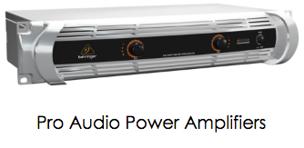 Pro Audio Power Amplifiers