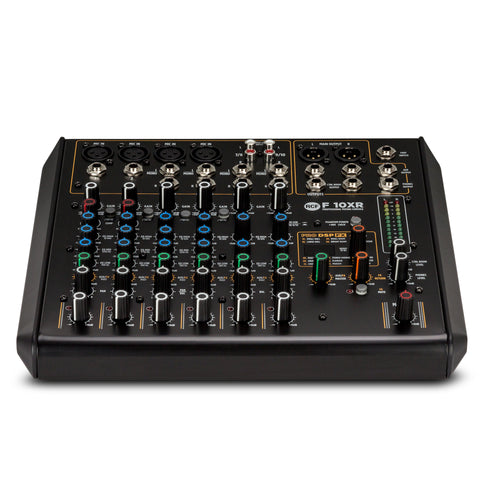 RCF F 10XR 10-Channel Mixing Console with Multi-FX & Recording