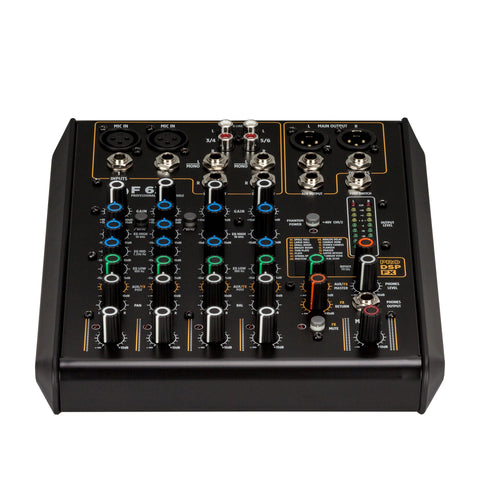 RCF F 6X 6-Channel Mixing Console with Multi-FX