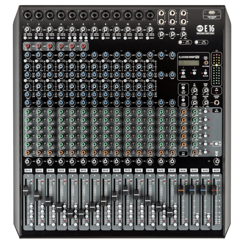 RCF E 16 16-Channel Mixing Console with Superior Effects and EQs