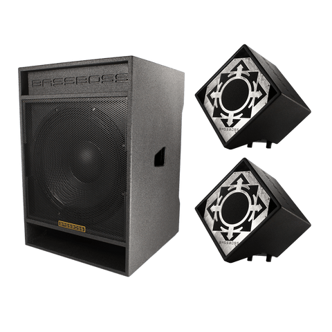 "BASSBOSS ""Diamond Drop"" 5400-Watt Live Sound Package - Sonido Live"