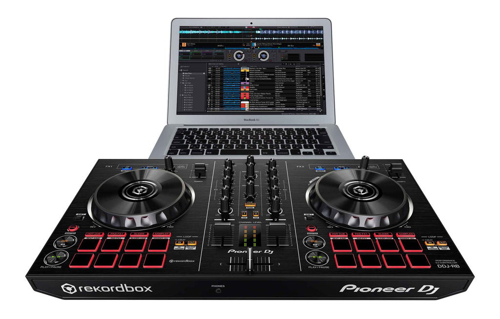 Pioneer DDJ‑RB Portable 2‑Channel DJ Controller - Sonido Live