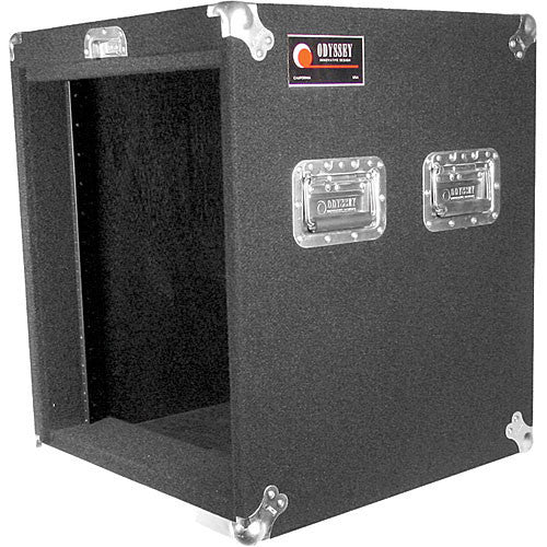 Odyssey CRP12W Carpeted Rack Case (Black) - Sonido Live
