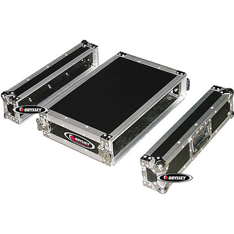 Odyssey FZER2 Flight Zone Shallow 2-Space Special Effects Rack Case - Sonido Live