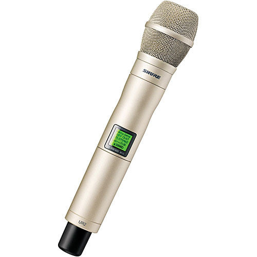 Shure UR2 Handheld Wireless Microphone Transmitter with KSM9 Head - Sonido Live