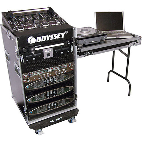Odyssey FZ1116WDLX Flight Zone ATA DLX Combo Rack Case