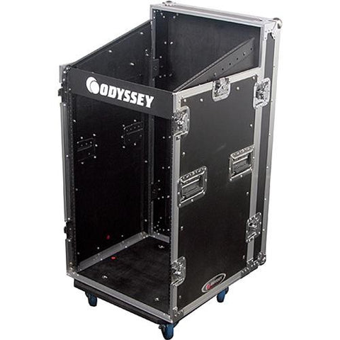 Odyssey FZSRP1116W Combo Rack Case with Wheels - Sonido Live