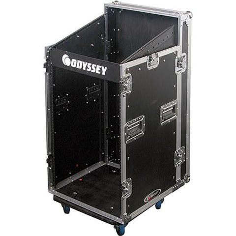 Odyssey FZSRP1112W Combo Rack Case with Wheels - Sonido Live