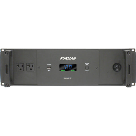 Furman P-2400 IT 20A Power Conditioner with 14 Outlets - Sonido Live