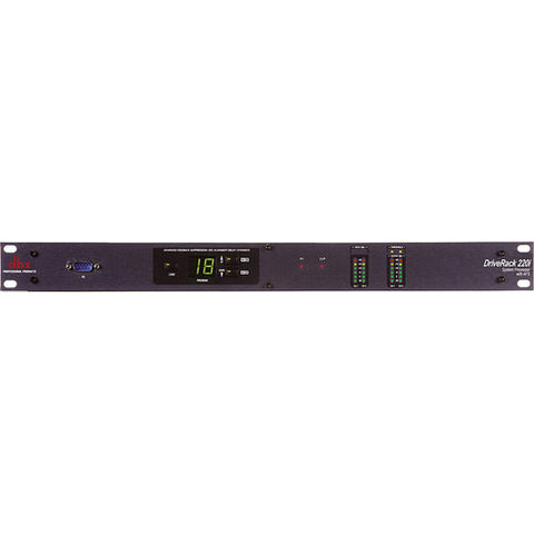 dbx DriveRack 220i - System Processor with AFS Advanced Feedback Suppression