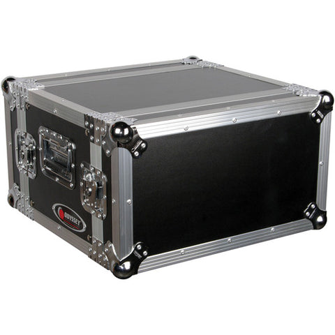 Odyssey FZER6 Flight Zone Shallow Six Space Special Effects Rack Case - Sonido Live