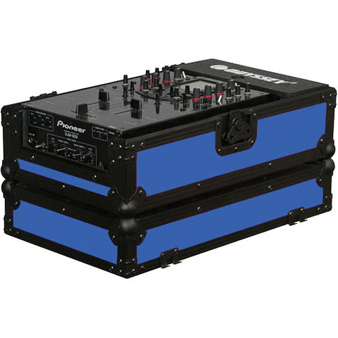 Odyssey FR10MIXBKBLUE Flight Ready DJ Mixer Case - Blue