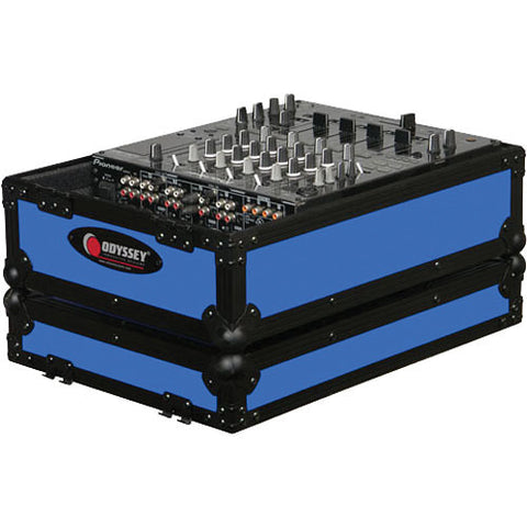 Odyssey FR12MIXBKBLUE Flight Ready DJ Mixer Case - Sonido Live