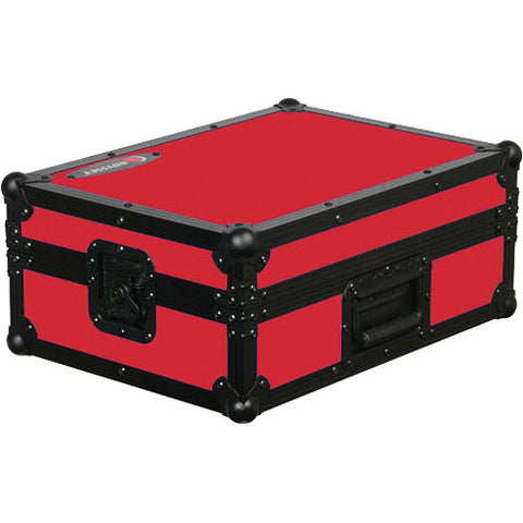 Odyssey FR12MIXBKRED Flight Ready 12-Inch DJ Mixer Case - Red
