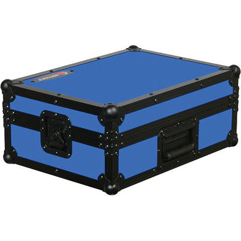 Odyssey FR12MIXBKBLUE Flight Ready 12-Inch DJ Mixer Case - Blue