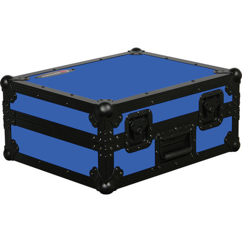 Odyssey FR1200BKBLUE Flight Ready Series Turntable Case - Blue