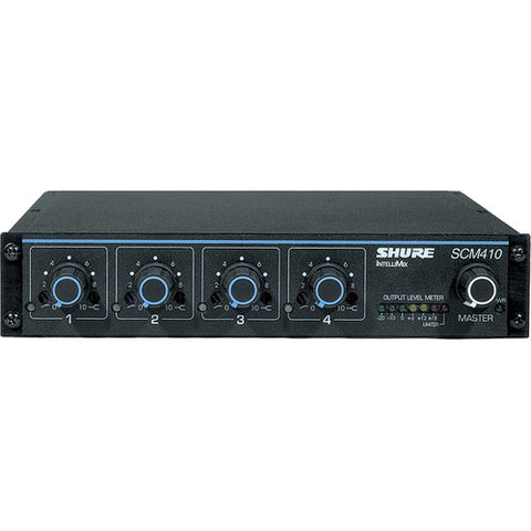 Shure SCM410 4-channel Automatic Microphone Mixer