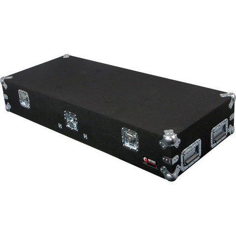 Odyssey CGSBM12 Glide Style Carpeted Covered Turntable Coffin Case