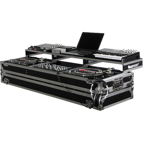 Odyssey FZGSPDJ19W Remixer Glide Style Series CD/Digital Media DJ Coffin Case