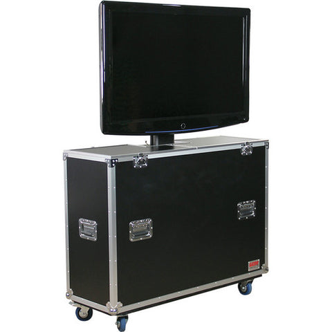 "Gator G-TOUR ELIFT 47 - 47"" LCD/Plasma Electric Lift Road Case"