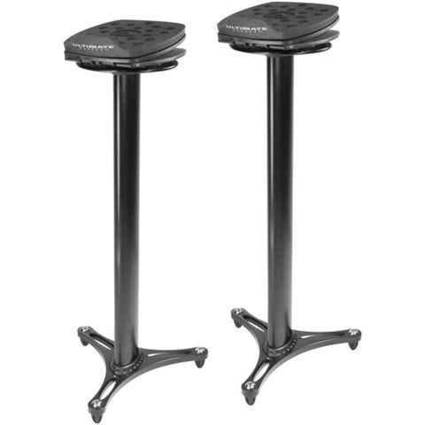 "Ultimate Support MS-100 Black 38.5"" Studio Monitor Stands"