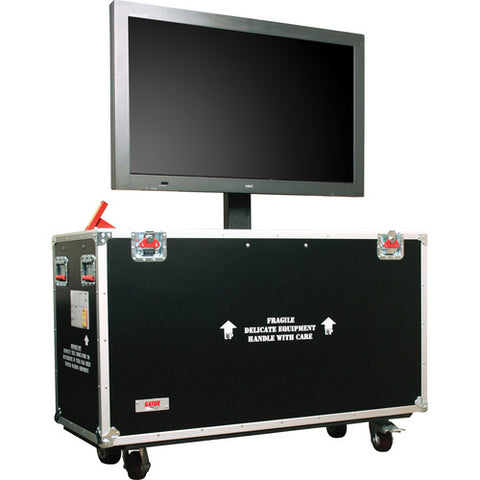 "Gator G-TOURLCDLIFT55 - 55"" LCD/Plasma Lift Road Case"