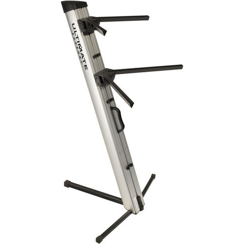 Ultimate Support APEX AX-48 Pro Column Keyboard Stand - Silver and Black