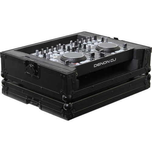 Odyssey FRDNMC36000BL Denon DN-MC3000/6000 DJ MIDI Controller Flight Ready Black Label Series Case - Sonido Live