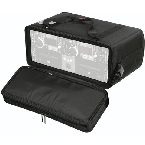 Odyssey BR412 Bag-style Four Spaces, 12-inches Deep Rack Case