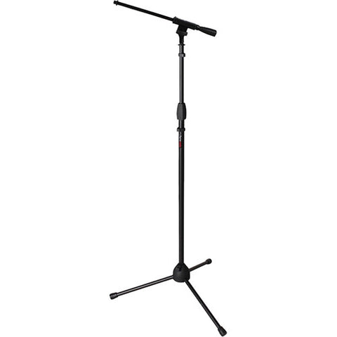 Gator Frameworks GFW-MIC-2010 Standard Tripod Mic Stand with Single Section Boom