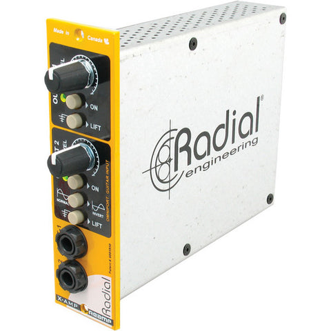 Radial X-Amp 500 Re-amping Module for 500 Series