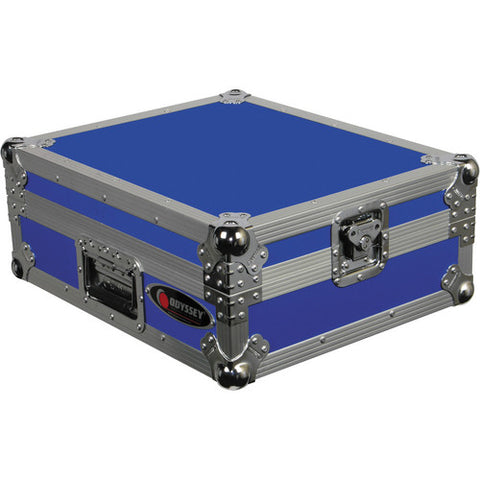 Odyssey FTTXBLU Flight Style Turntable Case - Blue