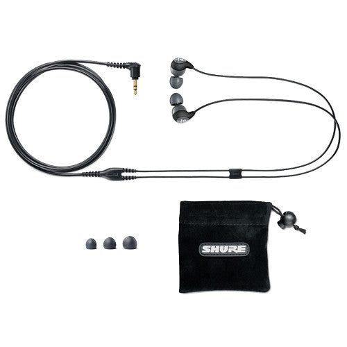 Shure SE112-GR Sound Isolating In-Ear Earphones - Sonido Live