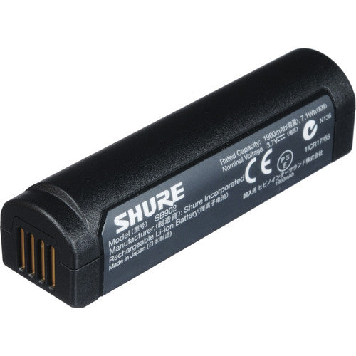 Shure SB902 GLXD Handheld and Body Battery Pack - Sonido Live