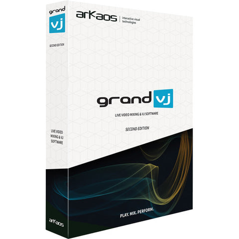 American DJ Grand VJ by Arkaos Video Mix VJ Software (Version 2.0)