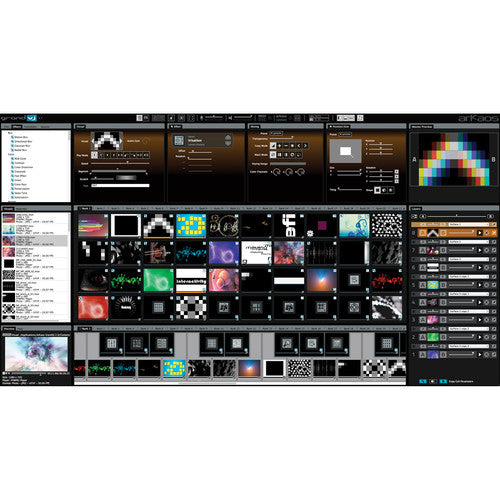 American DJ Grand VJ 2.0XT by Arkaos VJ Software With Video Mapping Extension (Version 2)