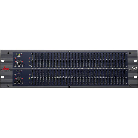 dbx 1231 Dual Channel 31-Band Graphic Equalizer - Sonido Live