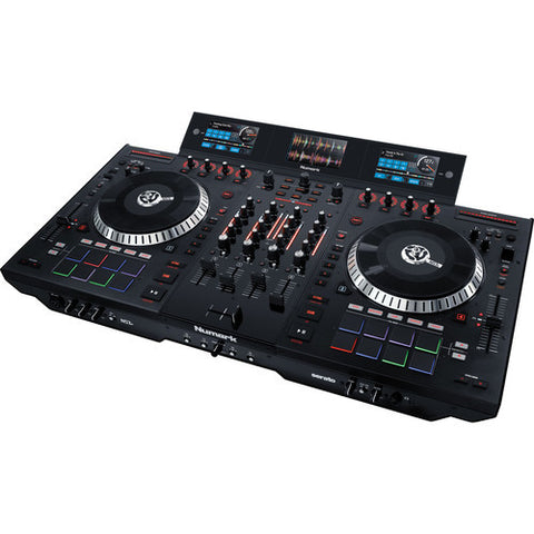 Numark NS7III 4-Deck Serato DJ Controller / Mixer with Multi-Screen Display - DJ Pro USA - 1