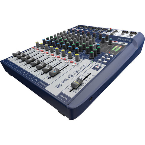Soundcraft Signature 10 10-Channel Analog Mixer with Effects - Sonido Live