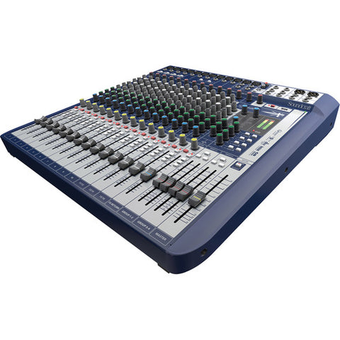 Soundcraft Signature 16 - 16-Channel Analog Mixer with Effects - Sonido Live
