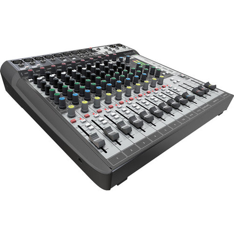 Soundcraft Signature 12 MTK Mixer and Audio Interface with Effects - Sonido Live
