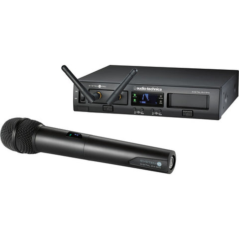 Audio-Technica ATW-1302 System 10 PRO Rack-Mount Digital Handheld Mic System - Sonido Live